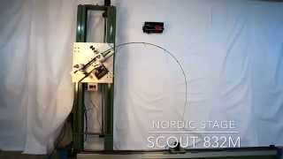 Nordic Stage Scout 832M Crash test - 14 lbs (6 kgs) power challenge