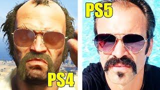 COME SI VEDE GTA5 sulla PLAYSTATION 5?