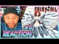 """FAIRY TAIL Episode 6 REACTION """"Fairies In The Wind"""""""