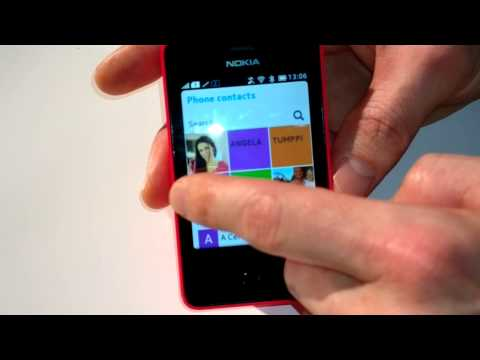 Nokia Asha 501 Hands on Video