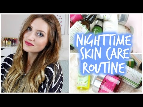 Nighttime Skincare Routine (all natural) - vlogwithkendra