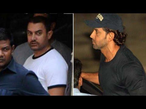 Salman's celebrity friends visit Khan residence