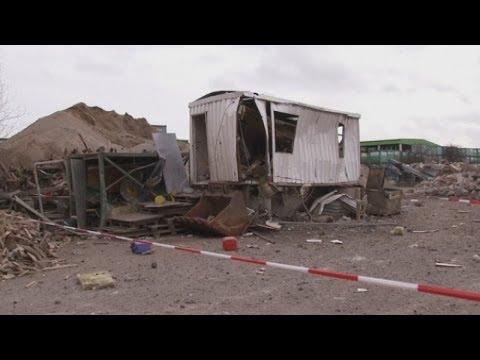 World War II bomb explodes at a Germany construction site, killing digger driver
