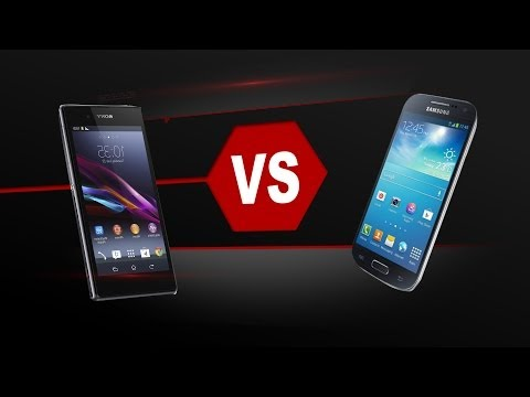 Xperia Z1 F Mini Vs. Galaxy S4 Mini