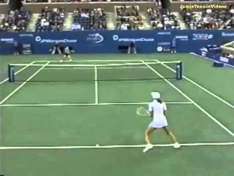 Martina Hingis vs Amanda Coetzer 2002 US Open Highlights