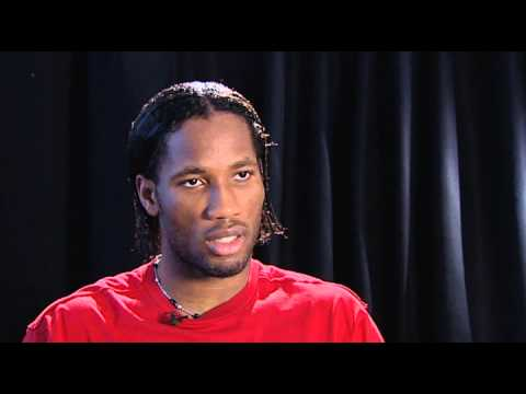 Didier Drogba on Learning English