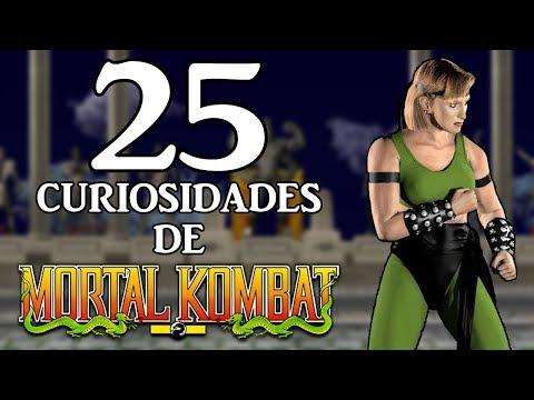 25 CURIOSIDADES SOBRE VIDEOJUEGOS | MORTAL KOMBAT (FRANQUICIA)