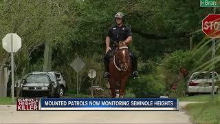 Mounted police to patrol frightened Tampa neighborhood