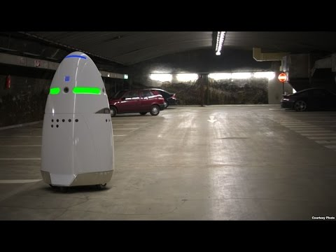 Microsoft Employs Robots As Security Guards – Rise Of The Machine Security Guards