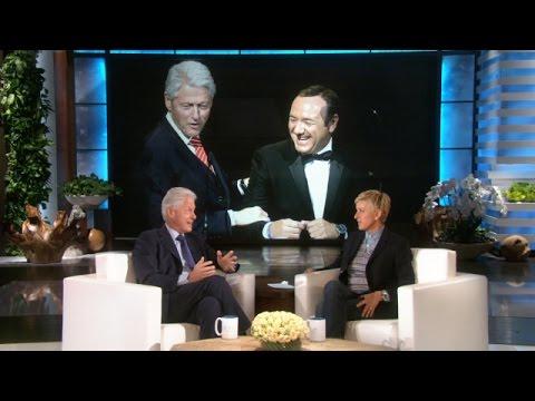 President Clinton Watches 'Grey's Anatomy'