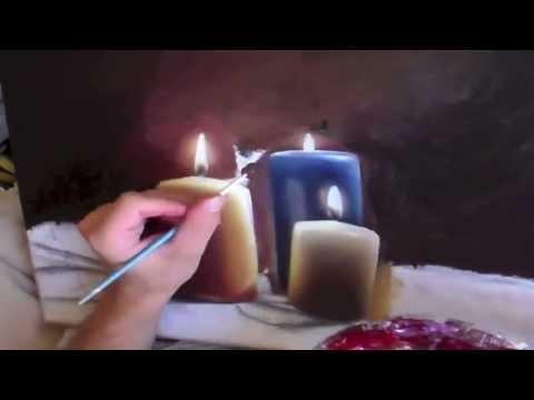 Comment peindre un fond la peinture l 39 huile youtube - Comment nettoyer des pinceaux de peinture a l huile ...