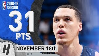 Aaron Gordon Full Highlights Magic vs Knicks 2018.11.18 - 31 Pts, 2 Assists!