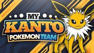 My Kanto Pokemon Team