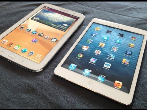 Galaxy Note 8.0 VS iPad Mini - Comparativas