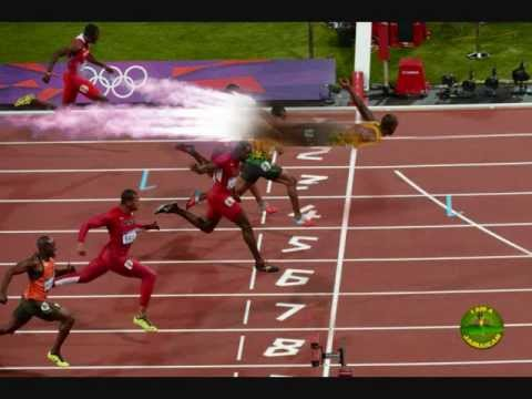 Usain Bolt 200m Funny Epic Pics London Olympics 2012 LOL