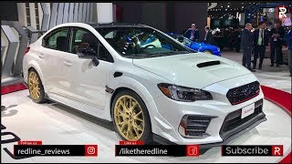 2020 Subaru WRX STI S209 – Redline: First Look – 2019 NAIAS