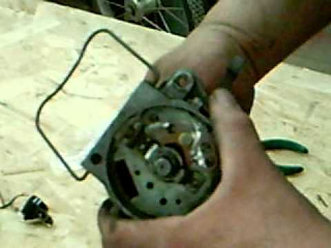 How to install points in distributor for 9N. 8N. 2N Ford tractor