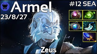 Armel [TNC] plays Zeus!!! Dota 2 7.20