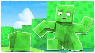 I'M DISGUISED LIKE AN SLIME! - MINECRAFT