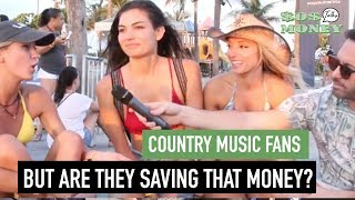 Sos Talks Money - Country Music Fans - Save That Money At Tortuga Fest