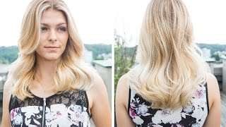 DOBI Hair Tutorial - Blond Balayage by Martin Duerrenmatt