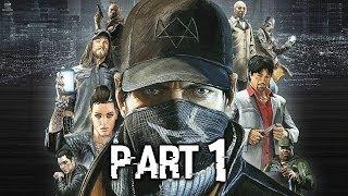 Watch Dogs Gameplay Walkthrough Part 1 - Aiden (PS4)