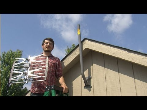 Solid Signal: How to install a 2-bay HDTV Antenna