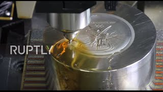Brazil: See how Olympic medals are made for Rio Games