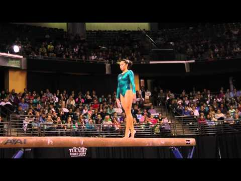 Christine Lee - Balance Beam Finals - 2012 Kellogg&#039;s Pacific Rim Championships - 2nd