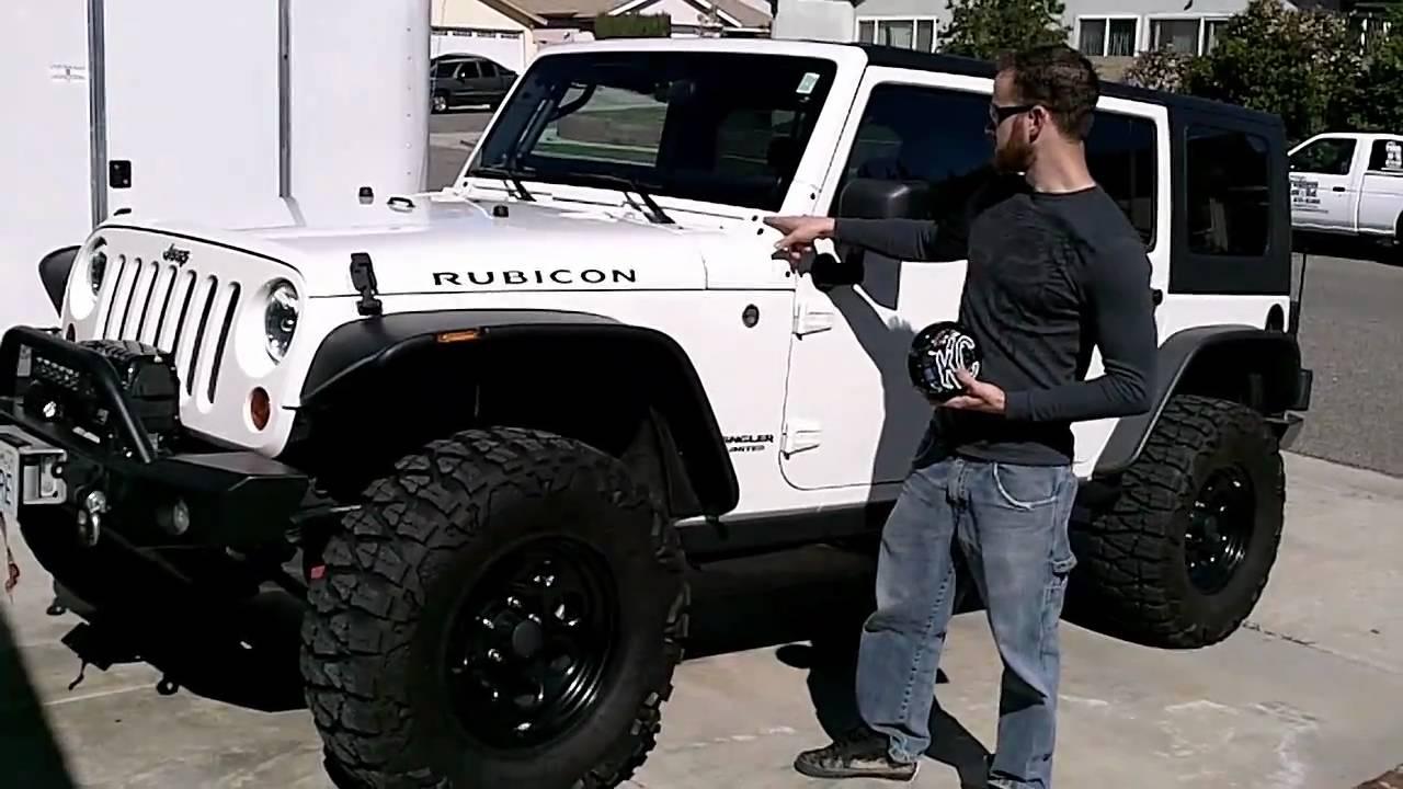 Jeep Wrangler Kc Lights Install Quot The Newerejk Jeep