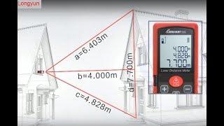 [ Công nghệ 4.0 ] - Hướng dẫn chi tiết sử dụng máy đo khoảng cách bằng Laser.