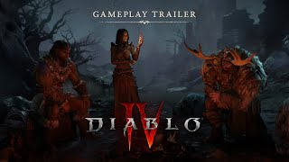 Diablo IV Official Gameplay Trailer