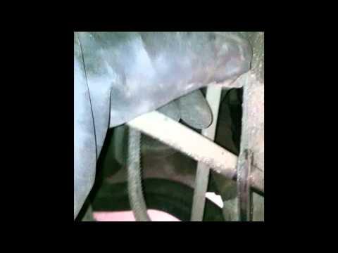Замена стойки стабилизатора на Citroen C5, видео