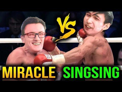 Miracle Stack VS SingSing Stack - It's Try Hard Dota 2 7.07c