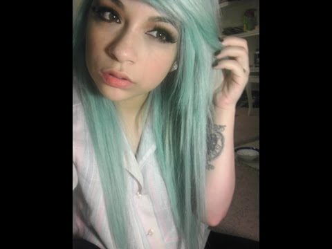 Dying My Hair - Light Pastel Blue /Turquoise/Aqua/Teal/Bubblegum Blue (Azure