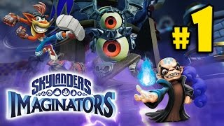 SKYLANDERS IMAGINATORS - Crash Bandicoot PART 1