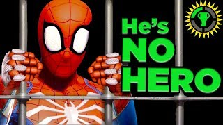 Game Theory: Spiderman is een crimineel! (Spider Man PS4)