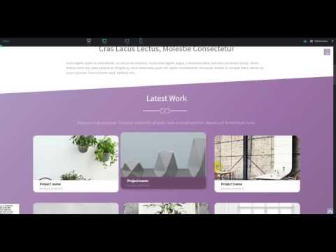 Сайт 3, урок 3. Создание сайта с нуля в редакторе PIXLI.