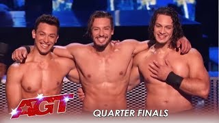 Messoudi Brothers: Show IMPOSSIBLE Strength Despite Rehearsal Accident! | America's Got Talent 2019