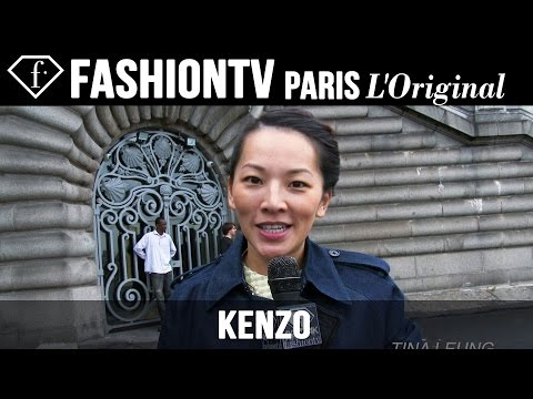 Joe Jonas at Kenzo Men | Paris Men's Fashion Week Fall/Winter 2014-15 | FashionTV
