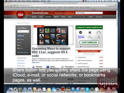 Apple Safari for Mac - Browse the Web comfortably  - Download Video Previews