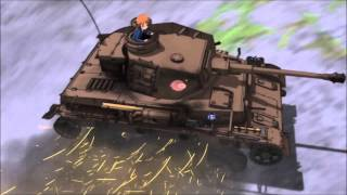 Girls und Panzer - weird drift