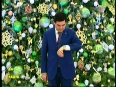 Turkmen president's New Year speech -- 2013
