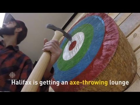 Halifax to get an  Axe-throwing Lounge