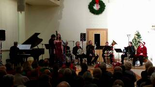 Mount Salem Video - Giannini Brass performs White Christmas at Old Salem, Dec 2009