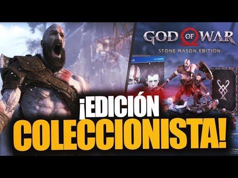¡LA EDICIÓN COLECCIONISTA DE GOD OF WAR Y NOVEDADES! Fecha de salida, precio y más - RAFITI thumbnail