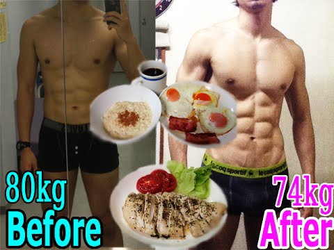 【ダイエット 食事動画】40日間の減量(ダイエット)の結果と食事内容の紹介  – 長さ: 1:29。