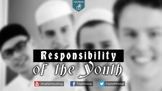 Responsibility of the Youth