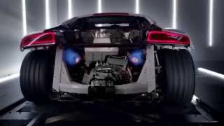 The new Audi R8 V10: TV CM (アウディ R8)