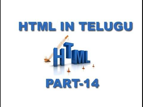 Html Tutorials In Telugu Defination List Part 14 [techdad.in] video